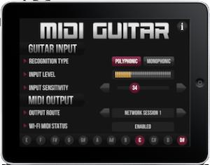 midi-guitar-ipad